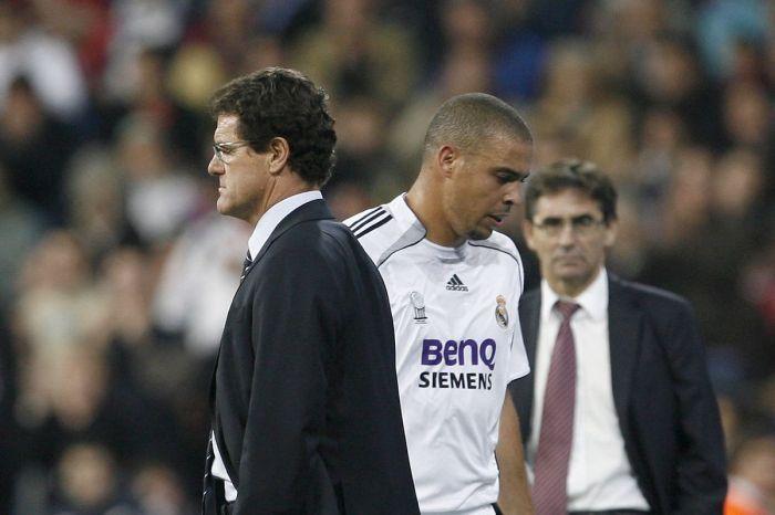 Капелло: Роналдо доставлял проблемы в раздевалке