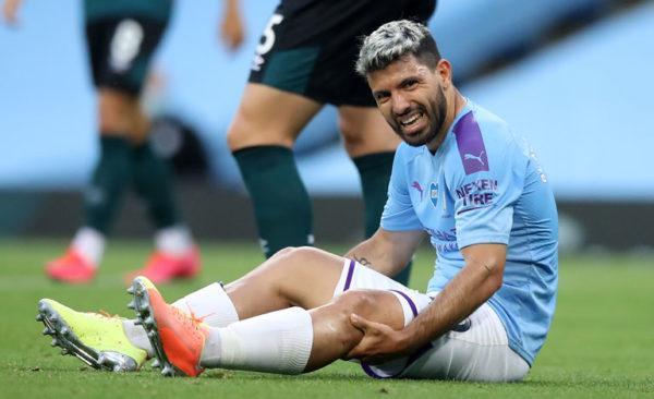 Нападающий «Манчестер Сити» пропустит ближайшие два матча «горожан» в АПЛ