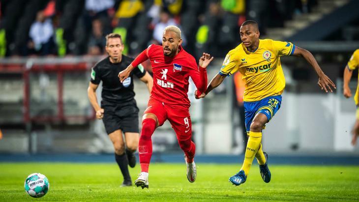 Брауншвейг — Герта — 5:4: смотреть видеообзор матча Кубка Германии