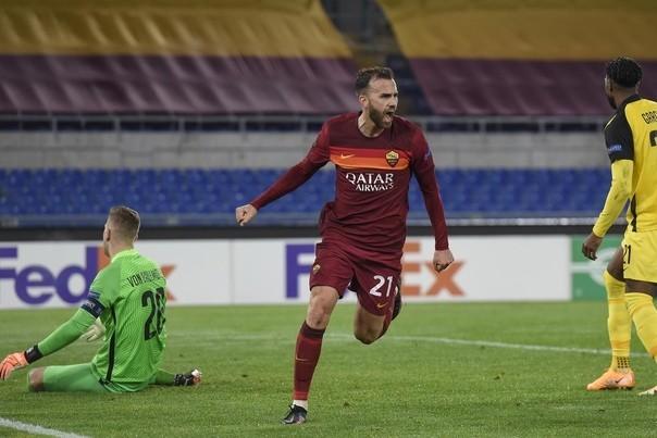 Рома второй раз обыграла Янг Бойз и гарантировала первое место